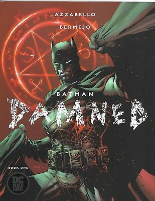 BATMAN: DAMNED #1 UNCENSORED FIRST PRINT Jim Lee Cover