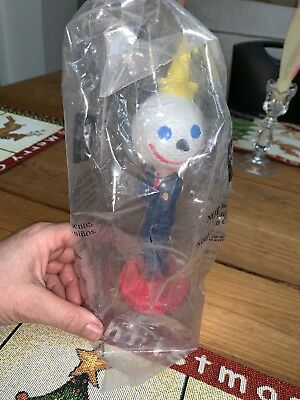 Jack in the Box ~ 8 inches Tall PROMO Bobblehead in original factory packaging