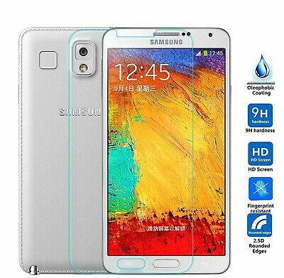 Samsung Galaxy NOTE 3 Tempered Glass Screen Scratch Resist Protective Film