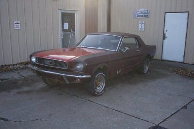 1966 Ford Mustang  1966 Mustang Coupe Project Car 289 V8 - NO RESERVE