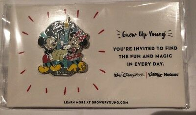 New Mickey & Minnie Grow Up Young - Disney Trading Pin