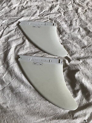 2 Vintage 1970S Surfboard Twin Fin G & S Star System W/ Og Decal Gordon Smith