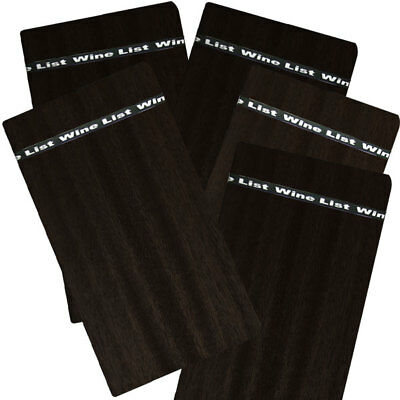 15 X A4 Black Timber Board with Wine Band PLUS FREE STORAGE BOX