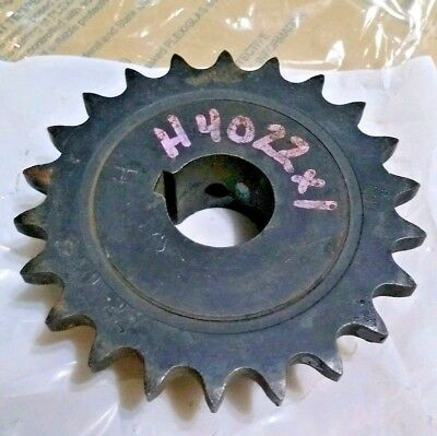 """Browning Gear H4022X1 Finished Bore Roller Chain 1/4"""" key  1"""" Bore 40F7/8"""
