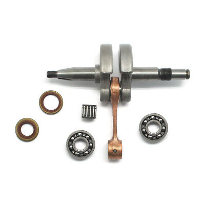 CRANKSHAFT WITH BEARING Oil Seal For Husqvarna 365 Chainsaw Parts #503 74  87-01