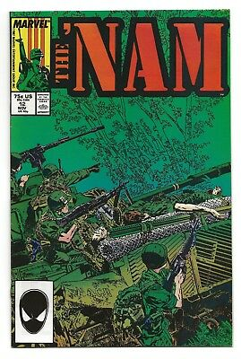 """The 'Nam #12  VF/NM  1987 """"From Cedar Falls with Love""""   *Free Shipping*"""