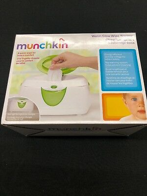 Munchkin Warm Glow Wipe Warmer Fast Free Shipping NEW