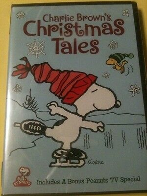 Charlie Brown's Christmas Tales - DVD Brand New.  FREE Shipping