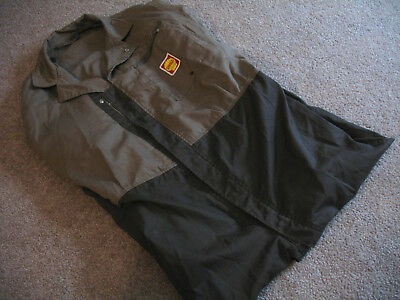 SHELL GAS COVERALLS UNIFORM JUMPSUIT Gasoline Station Petroliana Costume VINTAGE