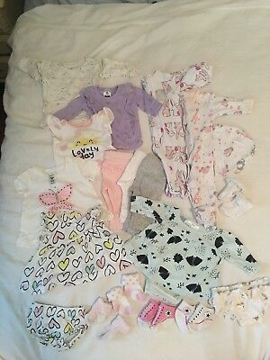 Baby Girl Bundle Of Clothes Size 0000