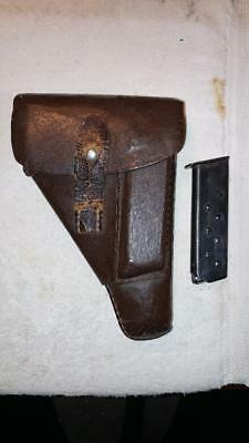 WWII German Officer's Walther PP Holster 1943 and original magazine