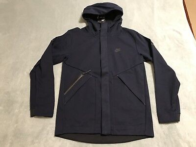 b72a5d50fade NIKE TECH FLEECE WINDRUNNER JACKET Mens sz Small S Obsidian Black 867658 451