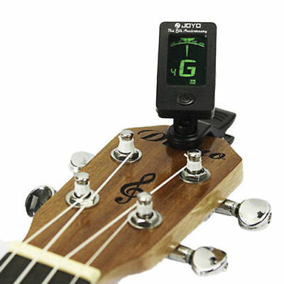 Chromatic Clip-On Digital Tuner for Electric Guitar Bass Violin Ukulele Great