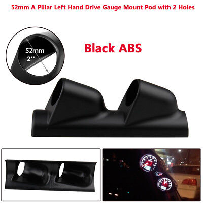 2''/52mm A-Pillar Meter Gauge Bracket ABS Mount Holder Pod Protect Racing Sport