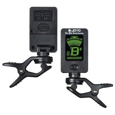 LCD Clip-on Electronic Digital Guitar Tuner for Chromatic Bass Ukulele New