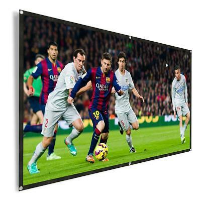 Outdoor Portable Projector Screen 120 Inch 16:9 HD Foldable Movie Screen