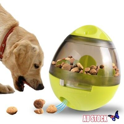 Dog Puzzle Food Dispenser Toy Ball Cat Pet Leak Puppy Training Interactive Play