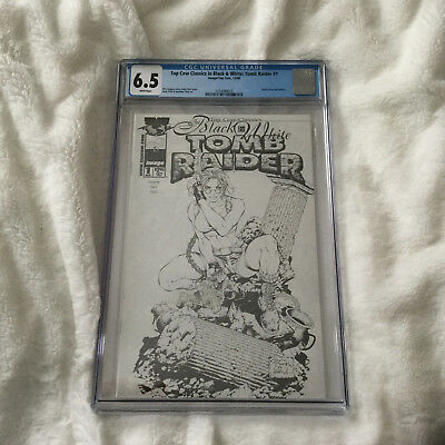 Tomb Raider Issue 1 - Top Cow Classics in Black & White  CGC 6.5 Comic
