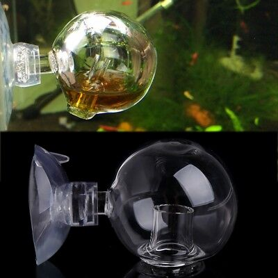 Aquarium Fish Tank Carbon Dioxide CO2 Monitor Glass Drop Ball Checker Tester