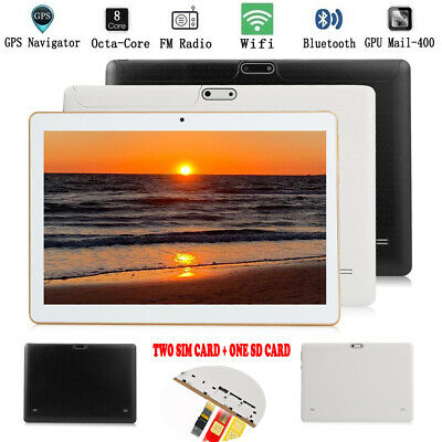 "10.1"" Tablet HD PC 4GB+64GB Octa-Core Android 6.0 WIFI GPS Phone Wifi Phablet"