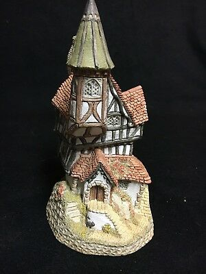 "David Winter Cottages ""There Was A Crooked House"" 1986 From The Main Collection"