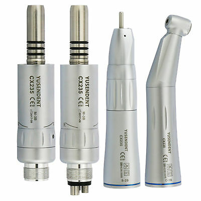 YUSENDENT COXO Dental Inner Water Contra Angle Air Motor Low Speed Kits E-type