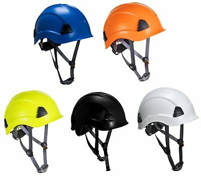 PORTWEST PS53 working at height ABS scaffolding steel erecting safety helmet