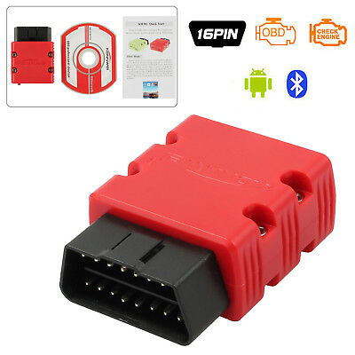 ELM327 Bluetooth OBD2 OBDii Selbstauto Diagnoseleser Scanner Werkzeug Android