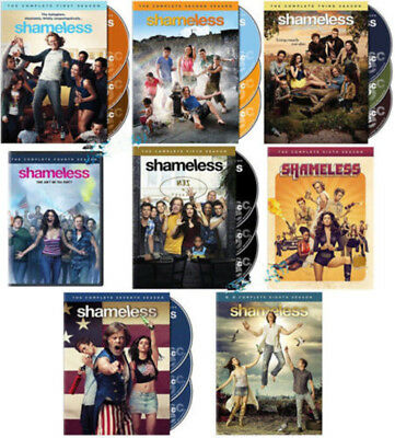Shameless: Complete Series Season 1-8 (DVD, 2017, 24-Disc Set) 1 2 3 4 5 6 7 8