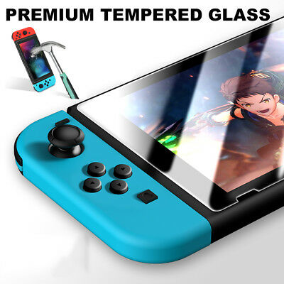 3 Pack For Nintendo Switch PREMIUM TEMPERED GLASS Screen Protector Cover Film
