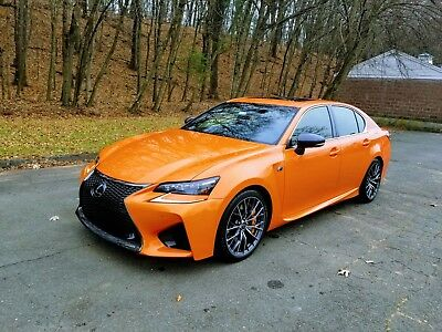 2016 Lexus GS F 5.0L 2016 Lexus GS F Molten Pearl - ultra rare 1 of 43 built, Lexus certified to 2023