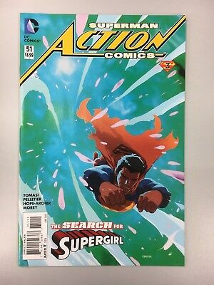 DC Comics - Action Comics #51 - Cover A - 2016 - BN Bagged and Boarded 1st print