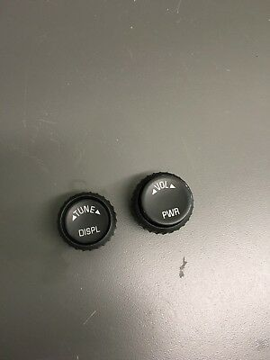 Gm Volume & Tune Knobs Buttons For 6Cd Truck & Suv Radios Oem