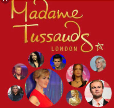 Madame tussauds London 2x tickets pick your own date