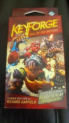 KeyForge - Call of the Archons -  Individual Deck free UK postage  RRP £8.99
