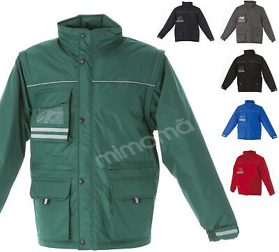 finest selection 214c0 be4d9 GIACCA GIACCONE PIUMINO Lavoro + Badge Uomo Impermeabile Antistrappo Jrc  Japan