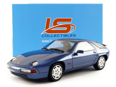 1987 Porsche 928 S4 Blue in 1:18 Scale by LS Collectibles