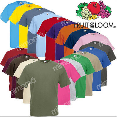 T-Shirt Manica Corta Fruit Of The Loom Valueweight Maglietta Maniche Corte Uomo