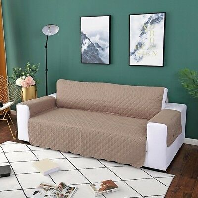 1 2 3 Seat Sofa Slipcover Couch Loveseat Cover Pet Dog Mat Furniture ...