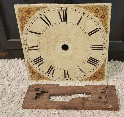 Unusual 30 Hour Alarm Longcase/grandfather Clock Movement-No Reserve!