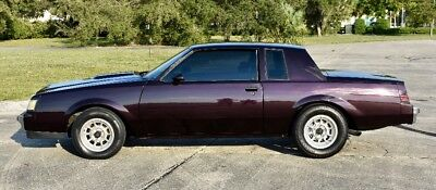 1986 Buick Grand National T Type T Type (No Reserve)