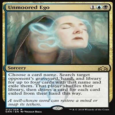 MTG (playset) MAGIC GUILDS OF RAVNICA GRN VO R 4X Unmoored Ego