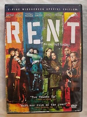 Rent (2006, 2-DVD Set, Special Edition Widescreen) *Combine Shipping Ships FAST!