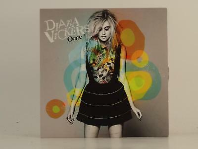 DIANA VICKERS,ONCE,EX/EX,1 Track, Promotional CD Single, Card Sleeve,SONY MUSIC
