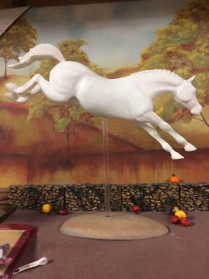 Breyer Horse Large Resin Made Horse-Jumper Not Painted
