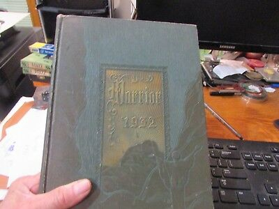 1932 MIDLANDS COLLEGE Fremont, NE. YEARBOOK