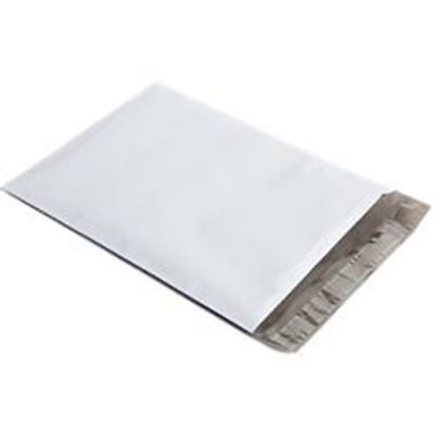 White Polymailers Poly mailers ( 6x9   9x12 ) 25/50/100 pk