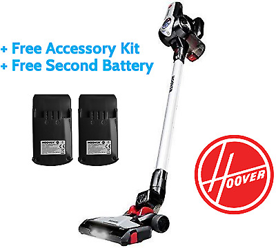 Hoover Cordless Discovery Pets Vacuum DS22HCB + Accessory Kit + Extra Battery