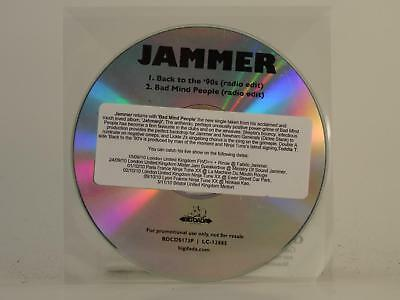 JAMMER,BACK TO THE '90S,EX/EX,1 Track, Promotional CD Single, Plastic Sleeve,BIG