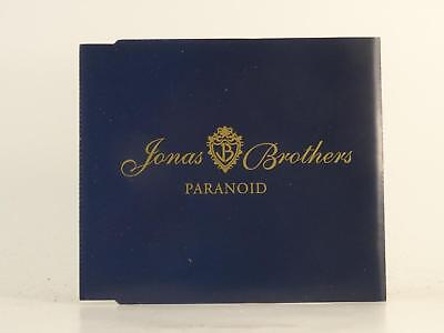 JONAS BROTHERS,PARANOID,EX/EX,4 Track, Promotional CD Single, Picture Sleeve,HOL